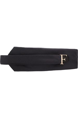 Gianfranco Ferré 1990s logo buckle belt - Grey