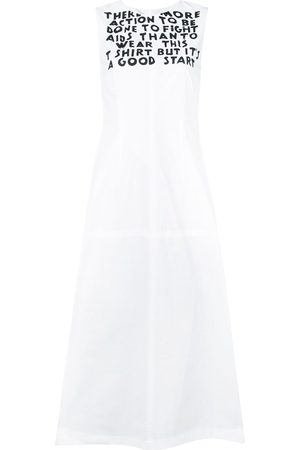MM6 MAISON MARGIELA Graphic shift dress