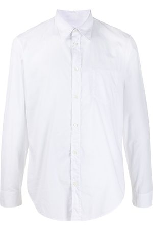 Maison Margiela Long-sleeved cotton shirt