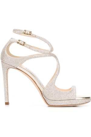 Jimmy choo Lance 100 sandals - Metallic