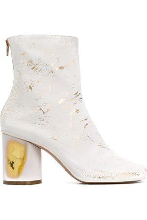 Maison Margiela Crushed heel ankle boots