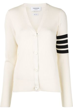 Thom Browne 4-Bar stripe Cardigan - 100