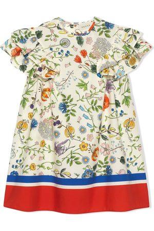 Gucci Flora Festival print dress
