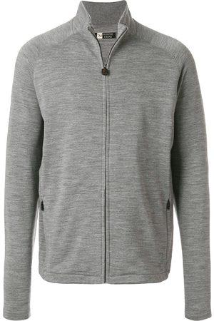 Z Zegna TECHMERINO™ sweat fleece jacket - Grey