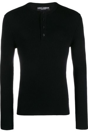 Dolce & Gabbana Buttoned ribbed jumper