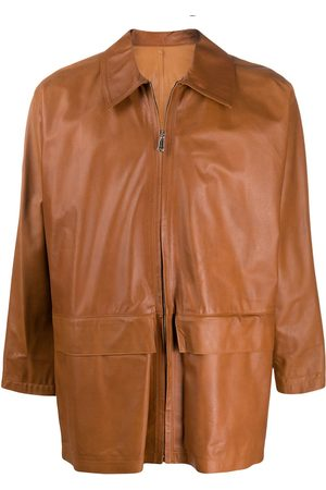 Gianfranco Ferré Zip-up leather jacket