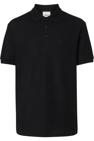 Burberry Men Polo Shirts - Monogram Motif Cotton Piqué Polo Shirt