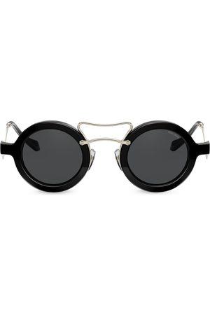 Miu Miu Société round frame sunglasses