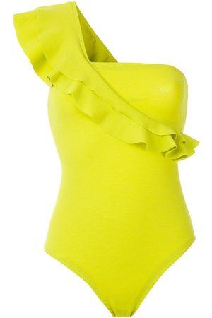 CLUBE BOSSA Siola ruffle swimsuit