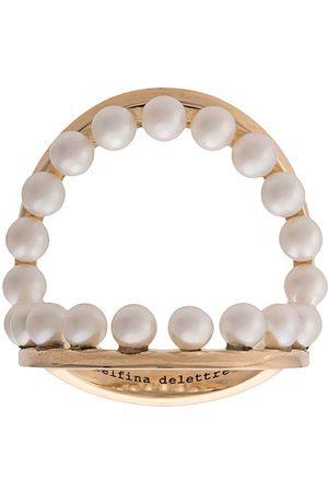 DELFINA DELETTREZ Double band ring