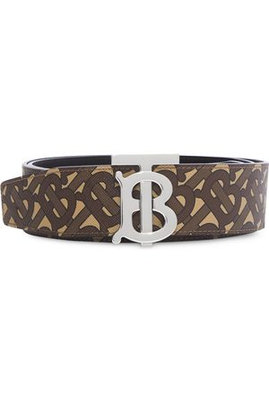 Burberry Reversible monogram print belt