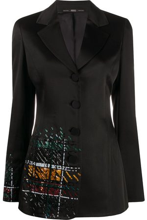 Gianfranco Ferré 1990s sequin embroidered blazer