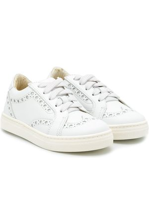 MONTELPARE TRADITION Brogue detail low-top sneakers