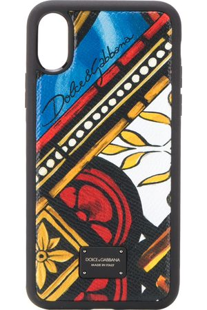 Dolce & Gabbana Tile print iPhone X/XS case