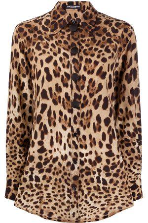 Dolce & Gabbana Women Blouses - Leopard print blouse