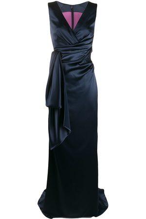 TALBOT RUNHOF Layered gown