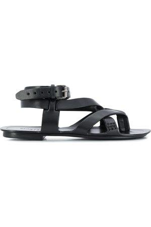 Saint Laurent Culver strappy flat sandals
