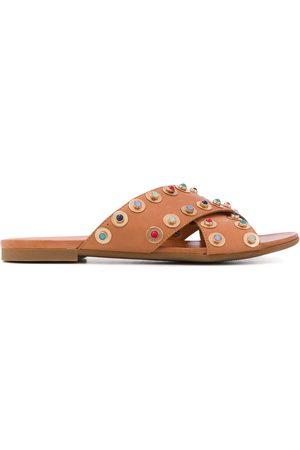 Carvela Koncern cross-strap sandals