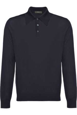 Prada Worsted wool polo shirt