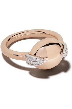 Botier 18kt rose Earth diamond ring - 18 CT. ROSE