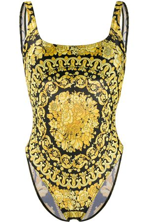 VERSACE Women Swimsuits - Barocco print swimsuit