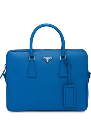 Prada Men Laptop Bags - Leather Briefcase