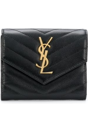 Saint Laurent Monogram compact tri-fold wallet