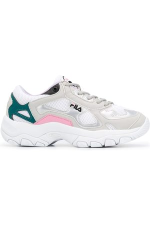 Fila Contrast panel chunky heel sneakers
