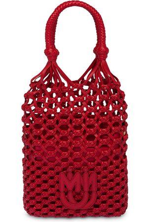 Miu Miu Macramé branded handbag