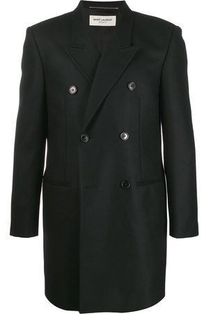 Saint Laurent Double-breasted tailored coat