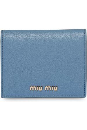 Miu Miu Logo lettering bi-fold wallet