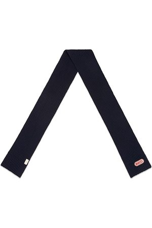Gucci Wool scarf with patch