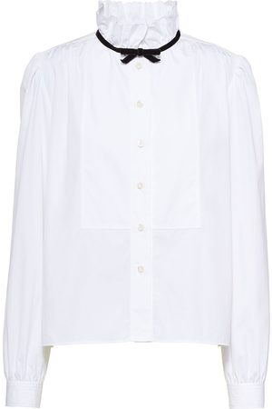 Miu Miu Tied neck blouse