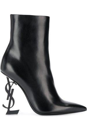 Saint Laurent Opyum 105mm ankle boots