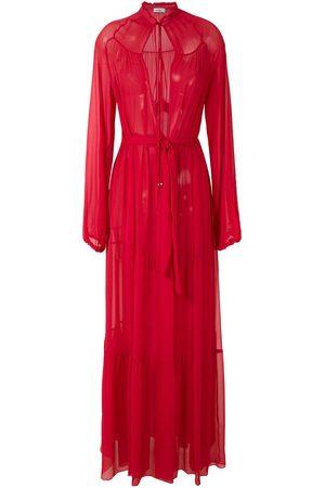 AMIR SLAMA Silk maxi dress