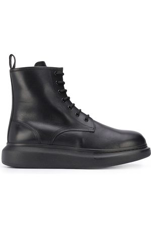 Alexander McQueen Oversized lace-up ankle boots