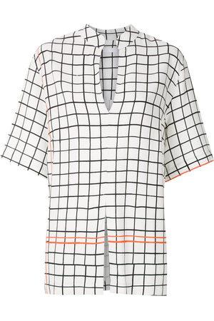 OSKLEN Women Shirts - Grid print shirt