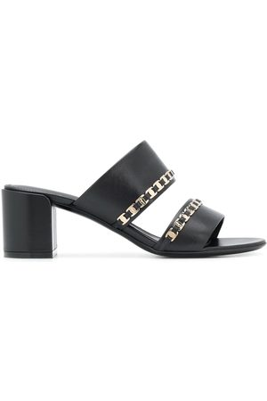 Salvatore Ferragamo Women Sandals - Tiny Vara bow appliqué sandals