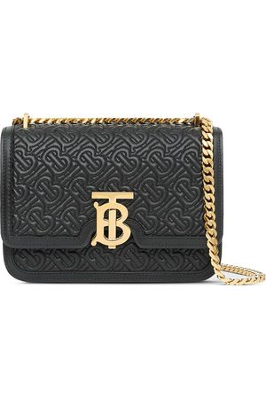 Burberry Small quilted monogram bag