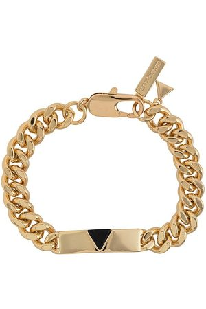 Coup De Coeur Chunky chain pyramid bracelet