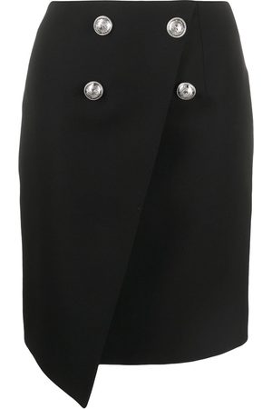 Balmain Women Mini Skirts - Buttoned mini skirt