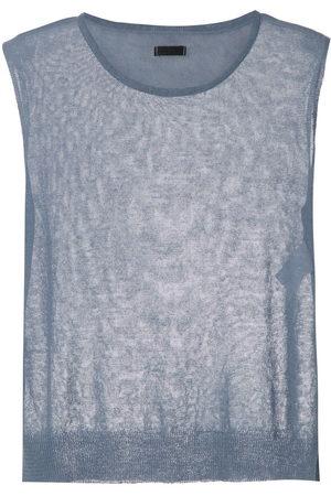 OSKLEN Women Tank Tops - Knitted linen tank