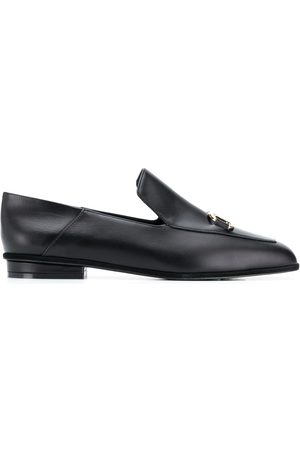 Salvatore Ferragamo Women Loafers - Square-toe leather loafers