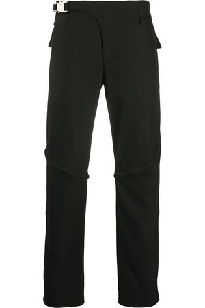 1017 ALYX 9SM Men Straight Leg Pants - Buckled straight-leg trousers