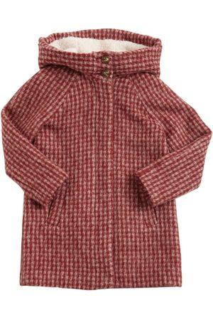 Chloé Wool & Alpaca Coat W/ Hood