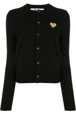 Comme des Garçons Embroidered logo patch cardigan