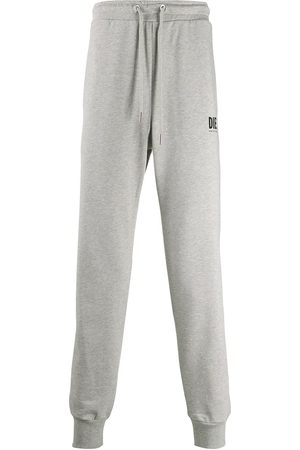 Diesel Logo print sweatpants - Grey