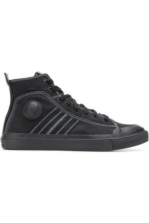 Diesel Hi-top canvas sneakers