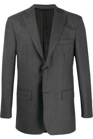 Cobra S.c. Pinstripe blazer - Grey