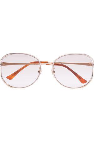 Gucci Round-frame -tone sunglasses